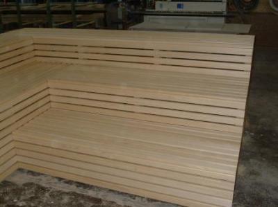 saunabank abachi. Black Bedroom Furniture Sets. Home Design Ideas