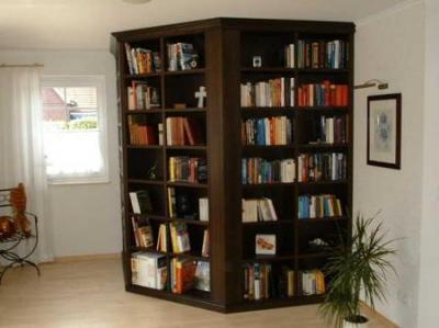 Einbau Bücherschrank