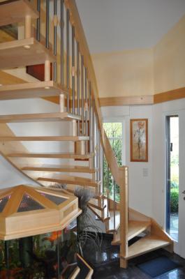 Holztreppe - eingebaut in 46354 Südlohn