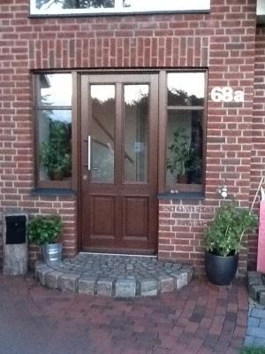 Haustür | Holz | gefertigt 2013