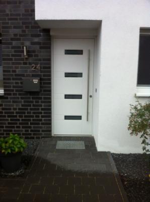 Haustür | weiss lackiert