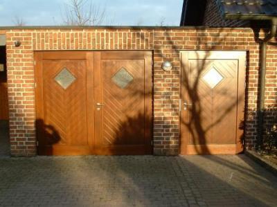 Garagentor   Eingangstür